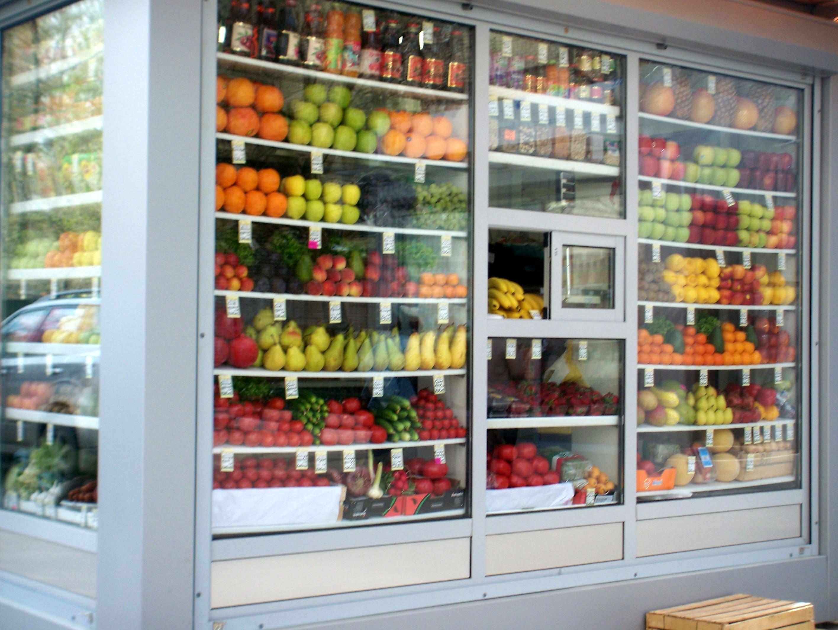 это витрина фруктовая в киоске фото назывался калейдоскоп
