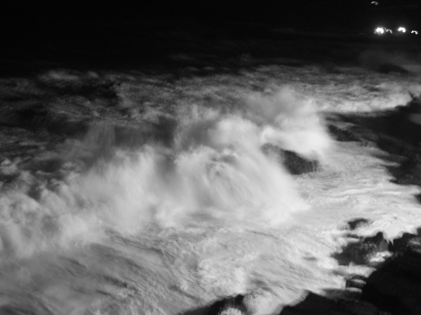 stormy evening in Puerto de la Cruz