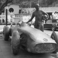 Monument to Fangio