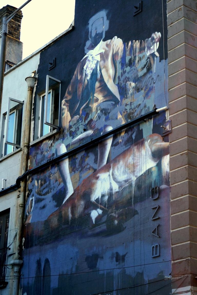 Mural, Merrion Row, Dublin