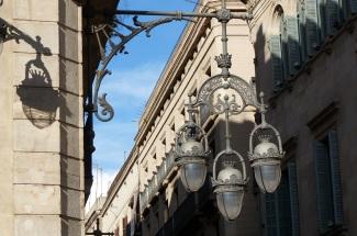 lamp in Barcelona