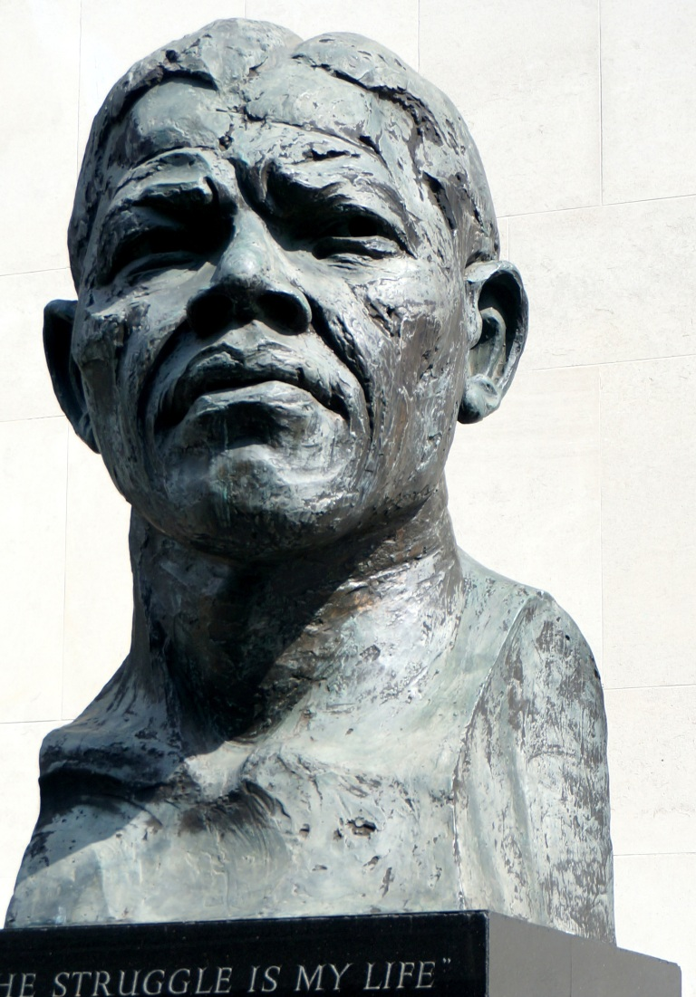 Nelson Mandela, South Bank, London
