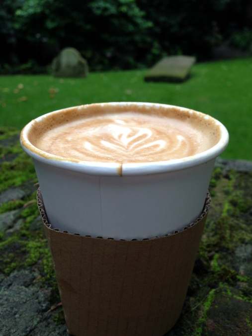 RoMo coffee at St Mary Aldermanbury