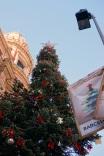 Tous Christmas tree outside El Corte Ingles on Portal de l'Angel