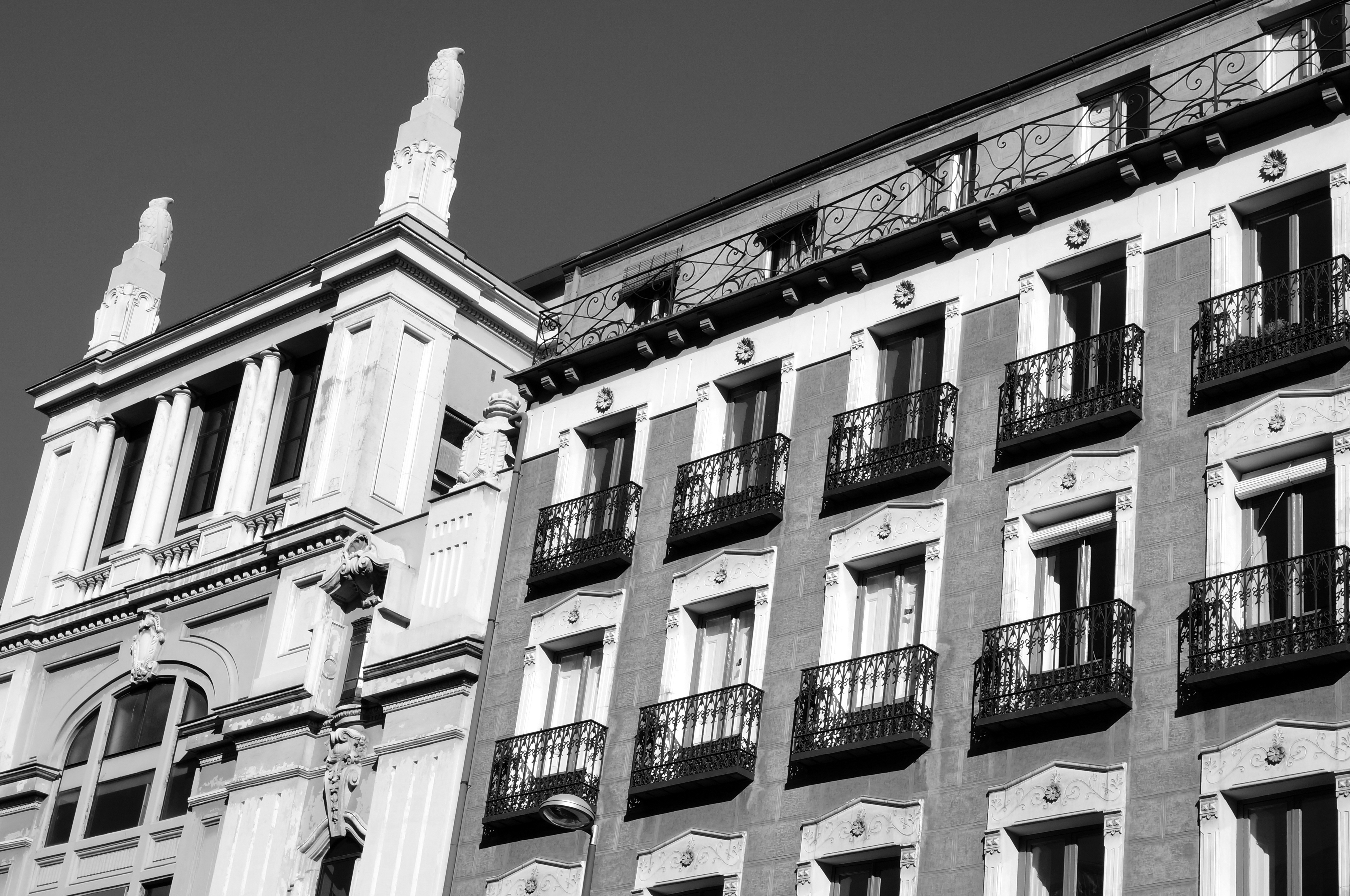 Black And White Madrid monochrome madrid – travel with intent
