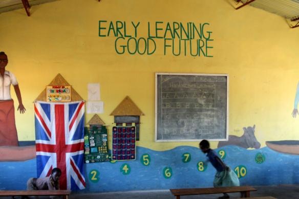 School in Sindi Village, Zambia