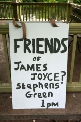 Friends of James Joyce, Dublin
