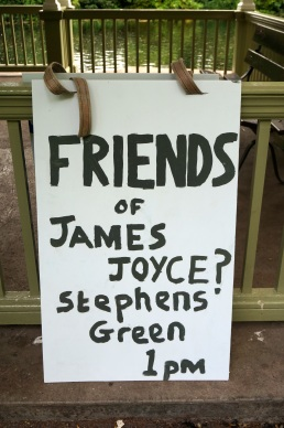 Friends of James Joyce, Dublin