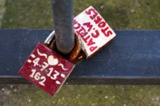 Locks at Bankside, London