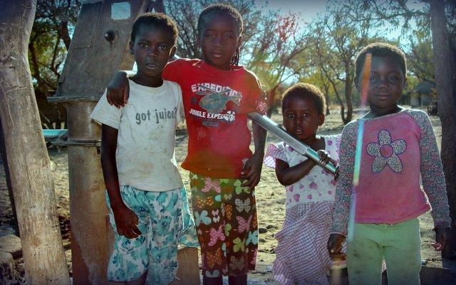 sindi village children