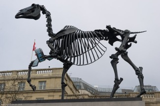 The Gift Horse by Hans Haacke