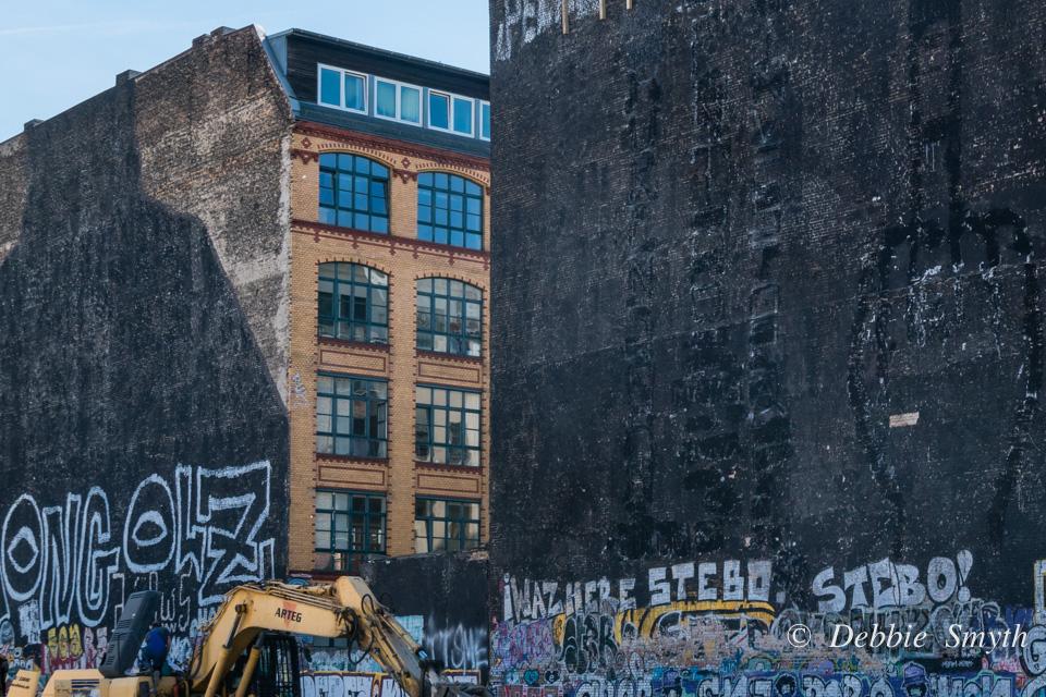 Transient art in Berlin