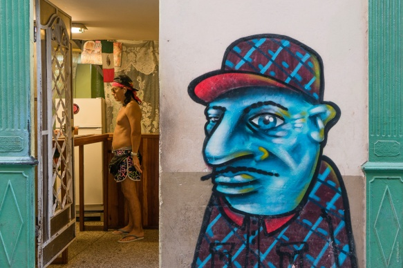 4. Cuba male street art