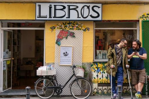 Libros, Malasana, Madrid, 2014