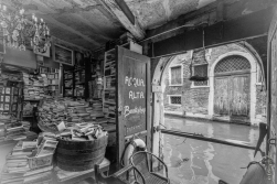 Wonderful bookshop in Venice