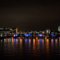 Colourful Thames