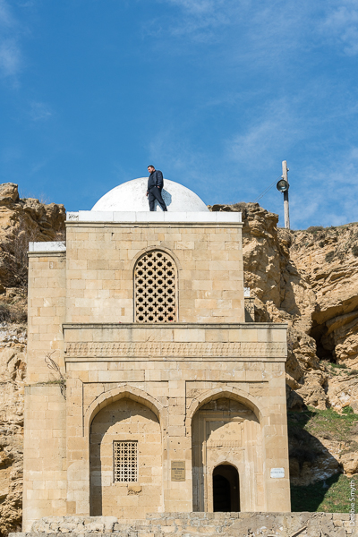 Diri Baba Mausoleum, Azerbaijan, March 2017