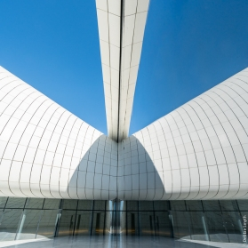 Heydar Aliyev Centre, Baku, Azerbaijan, March 2017