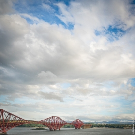 Forth Rail Bridge, Scotland, August 2017