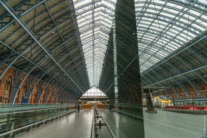 St Pancras Station, London, March 2017