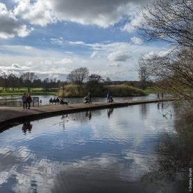 Verulamium Park, St Albans, Hertfordshire, March 2017