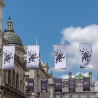 Artistic flags celebrate Royal Academy anniversary