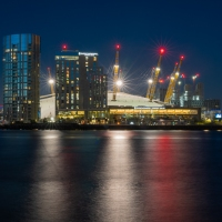 Blue Hour at the O2 Arena