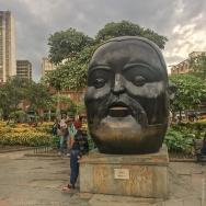 Cabeza, Plaza Botero