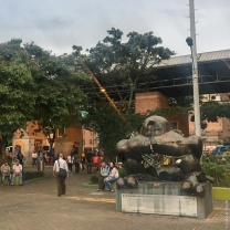 Bird of Peace, Plaza San Antonio