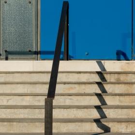 Museum steps in Arles