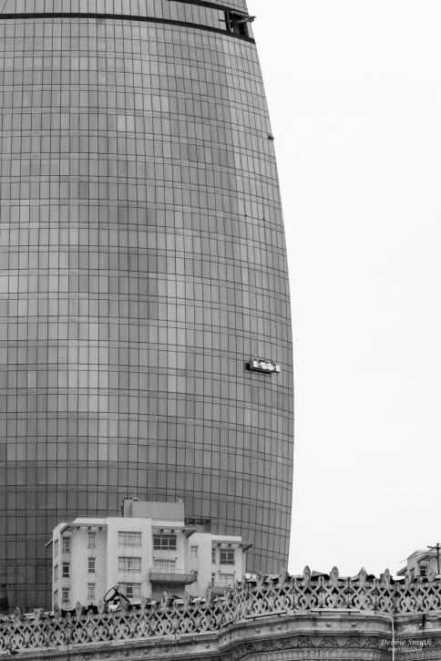 Window cleaning, Baku