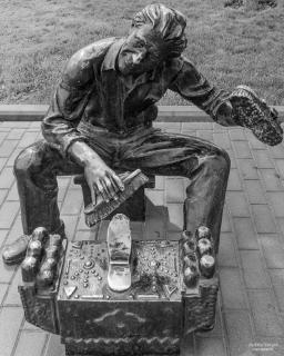 Shoe cleaner, Baku