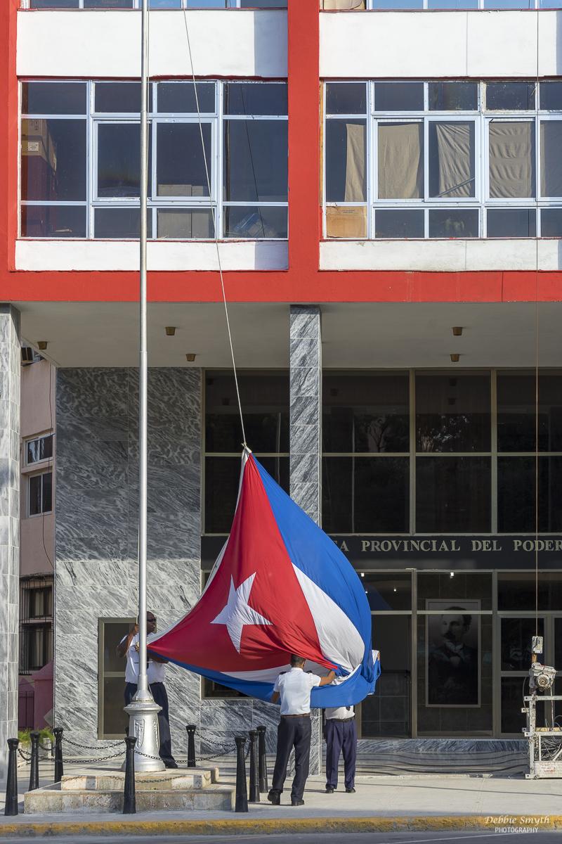 Casto mourning period, Havana, Cuba