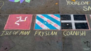 Floor art in london