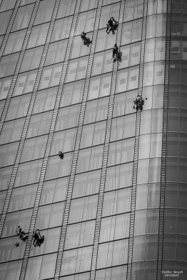 Window cleaning, London