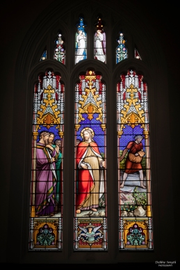 Stained glass at St Peter's Church