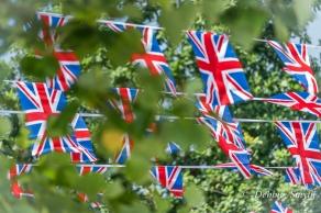 Flags at Ascot, England