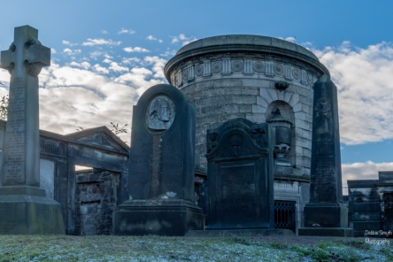 cylindrical David Hume mausoleum