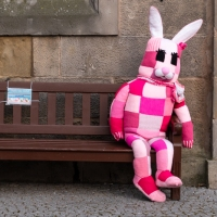 Rita the pink rabbit