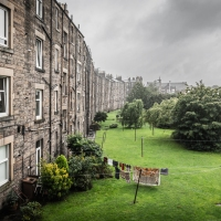The Edinburgh weather changes with speed