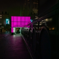 Pinklight on Theatre Avenue