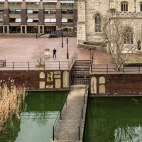 Water and history at the Barbican