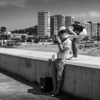 Image review in Malaga