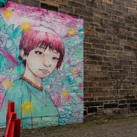 A hint of Manga in Leith