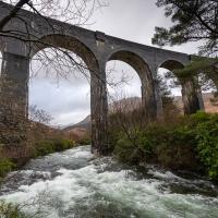 River Finnan running wild