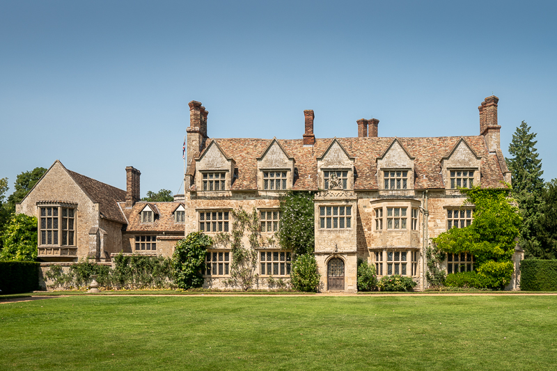 Jacobean style hours with green lawn in front