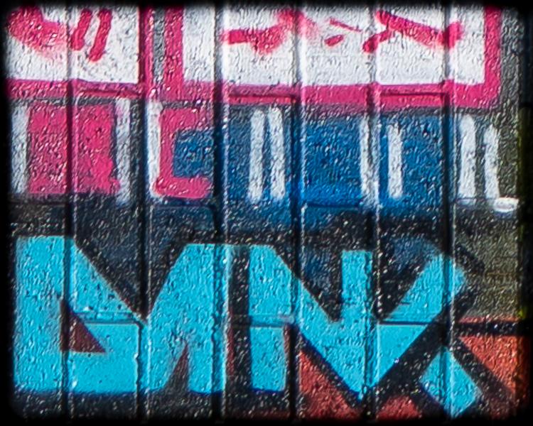 Logo of street artist DANK
