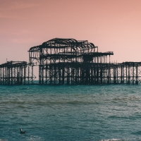 I spy the West Pier