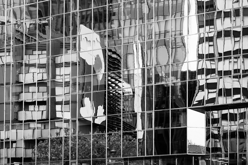 A jumble of reflections