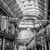Leadenhall dressed for summer